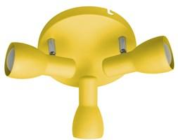 PICARDO LAMPA SUFITOWA PLAFON 3X40W E14 MUSZTARDOWY
