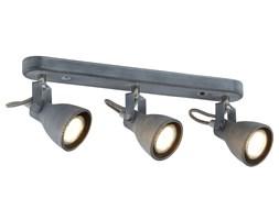 ASH LAMPA SUFITOWA LISTWA 3X40W GU10 SZARY MAT