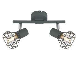 VERVE LAMPA SUFITOWA LISTWA 2X40W E14 MATOWY SZARY
