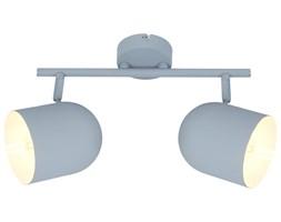 AZURO LAMPA SUFITOWA LISTWA 2X40W E27 SZARY MAT