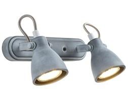 ASH LAMPA SUFITOWA LISTWA 2X40W GU10 SZARY MAT