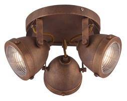 FRODO LAMPA SUFITOWA PLAFON 3X40W GU10 RDZAWY