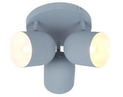 AZURO LAMPA SUFITOWA PLAFON 3X40W E27 SZARY MAT