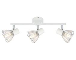 FLY LAMPA SUFITOWA LISTWA 3X40W E14 BIAŁY/CHROM