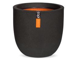 Capi Owalna donica Urban Smooth, 35 x 34 cm, czarna, KBL932