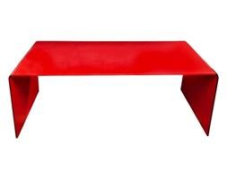 Stolik szklany PRIAM A czerwony - szkło czerwone
