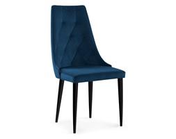 krzesło CARO VELVET granat/czarny Bettso
