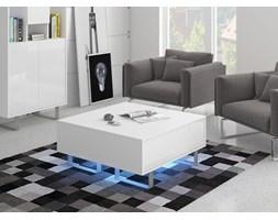 Ława King (KIN-08) : Czas dostawy - 1-4 tygodnie, Kolor frontu - biały połysk, Kolor korpusu - biały, Podświetlenie - oświetlenie LED