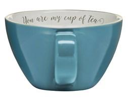 Filiżanka do kawy i herbaty kamionkowa SAGAFORM TEA NIEBIESKA 700 ml