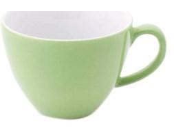 Filiżanka do kawy i herbaty porcelanowa KAHLA PRONTO COLORE JASNOZIELONA 160 ml