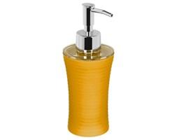 Dozownik do mydła w płynie, kolor żółty w prążki