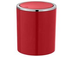 Kosz na śmieci, łazienkowy Swing 2l, kolor czerwony