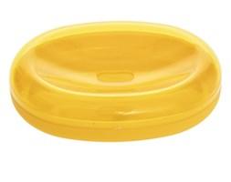 Mydelniczka na mydło w kostce, kolor żółty
