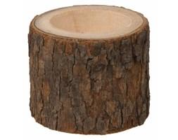 Świecznik drewniany na podrzewacz, drewno sosnowe, Ø 5 cm