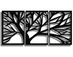 Obraz TRYM Czarny 140x70 cm