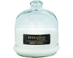INTENSIVE COLLECTION 100% Soy Wax Premium Candle B2 Jar świeca zapachowa w szkle z kloszem 100% wosk sojowy - Sweet Honey