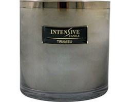 INTENSIVE COLLECTION 100% Soy Wax Luxury Candle Glass XXL1 luksusowa świeca zapachowa sojowa w szkle - Tiramisu
