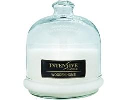 INTENSIVE COLLECTION 100% Soy Wax Premium Candle B2 Jar świeca zapachowa w szkle z kloszem 100% wosk sojowy - Wooden Home