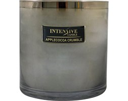 INTENSIVE COLLECTION 100% Soy Wax Luxury Candle Glass XXL1 luksusowa świeca zapachowa sojowa w szkle - Apple Cocoa Crumble
