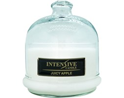 INTENSIVE COLLECTION 100% Soy Wax Premium Candle B2 Jar świeca zapachowa w szkle z kloszem 100% wosk sojowy - Juicy Apple