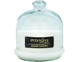 INTENSIVE COLLECTION 100% Soy Wax Premium Candle B2 Jar świeca zapachowa w szkle z kloszem 100% wosk sojowy - Sugar Cookies