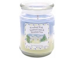 Trójzapachowa świeca zapachowa Candle-lite duża 538 g - Woodland Walk Sundried Linen Mountain View