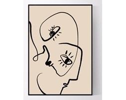 Plakat Abstrakcyjne twarze