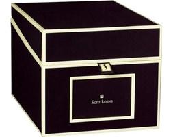Pudełko na zdjęcia i płyty CD Die Kante czarne