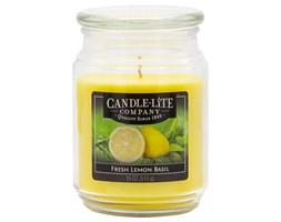 Świeca zapachowa Candle-lite duża w szkle 510 g - Apple Cinnamon Crisp