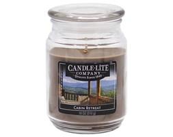 Świeca zapachowa Candle-lite duża w szkle 510 g - Cabin Retreat