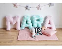 Imię dziecka z poduszek literek-4 bawełniane literki