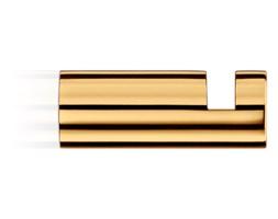 Wieszak na ręcznik, złoty Decor Walther Mikado Gold 3,5x1,2cm