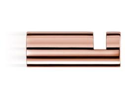 Wieszak na ręcznik, różowe złoto Decor Walther Mikado Rosegold 3,5x1,2cm