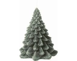 Świeca choinka Christmas Tree 12,5 cm zielona
