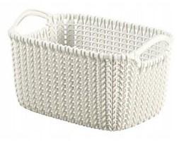 Koszyk na Drobiazgi 3 l kremowy Knit Curver
