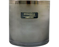 INTENSIVE COLLECTION 100% Soy Wax Luxury Candle Glass XXL1 luksusowa świeca zapachowa sojowa w szkle - Lemon Juice