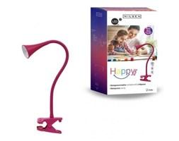 Lampka biurkowa Happy Nilsen z klipsem różowa
