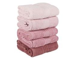 Zestaw 4 różowych ręczników Rainbow Powder, 70x140 cm