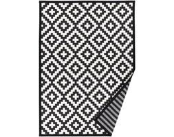 Czarno-biały dywan dwustronny Narma Viki, 140x200 cm