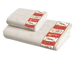 Zestaw 2 ręczników bawełnianych Crido Consulting What is Christmas