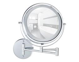 Kosmetyczne lusterko ścienne z oświetleniem LED Wenko Lumi