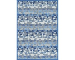 Niebieski dywan dwustronny Narma Luke Blue, 70x140 cm