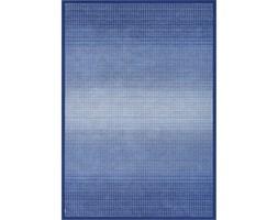 Niebieski dywan dwustronny Narma Moka Marine, 70x140 cm