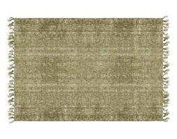 Zielony dywan bawełniany PT LIVING Washed, 140x200 cm