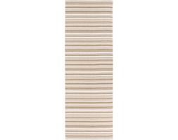 Brązowo-biały chodnik odpowiedni na zewnątrz Narma Hullo, 70x300 cm