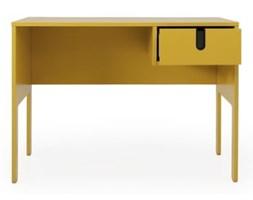 Żółte biurko Tenzo Uno
