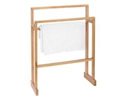 Wieszak na ręczniki z drewna dębowego Wireworks Mezza