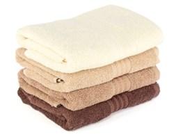 Zestaw 4 brązowych ręczników kąpielowych Rainbow, 70x140 cm