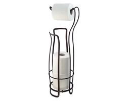 Czarny stalowy stojak na papier toaletowy InterDesign, 62,5 cm