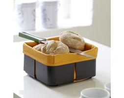 Czarno-pomarańczowy koszyk na chleb Steel Function Roma